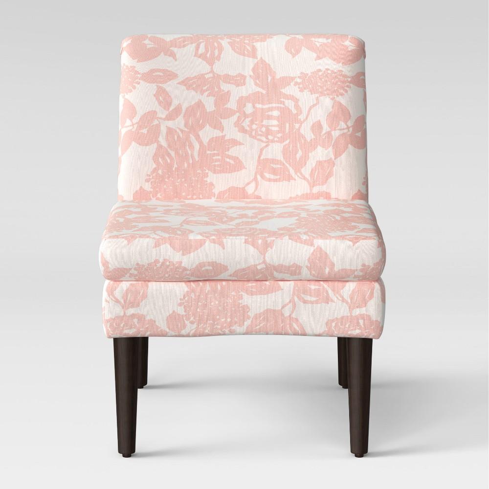Winnetka Modern Slipper Chair Pink Rose - Project 62