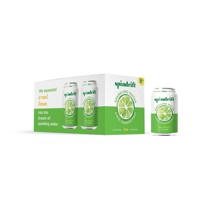 Spindrift Lime Sparkling Water - 8pk/12 fl oz Cans