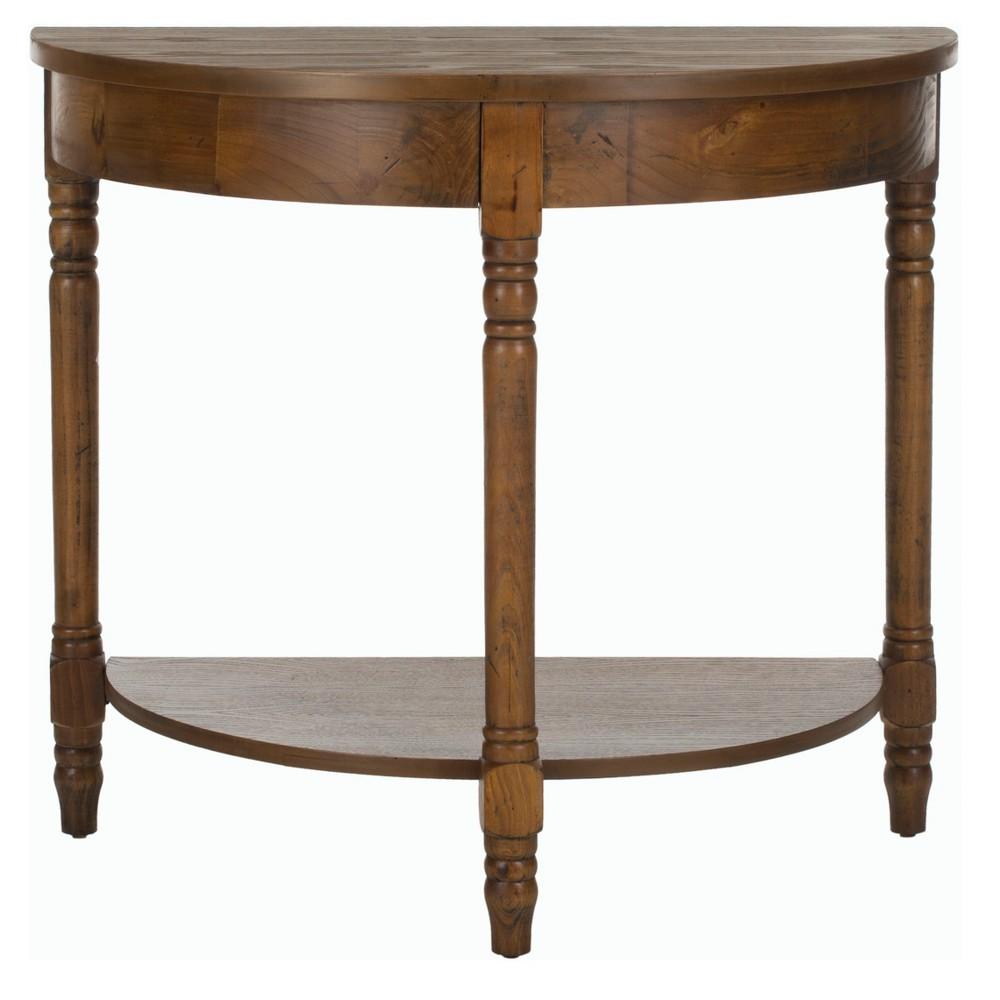 Randell Console Table - Brown - Safavieh