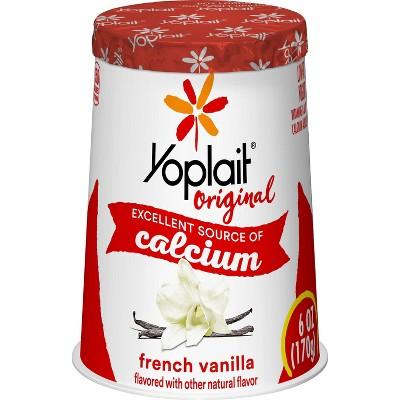 Yoplait Original French Vanilla Yogurt - 6oz
