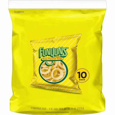 Funyuns Onion Flavored Rings Singles - 10ct