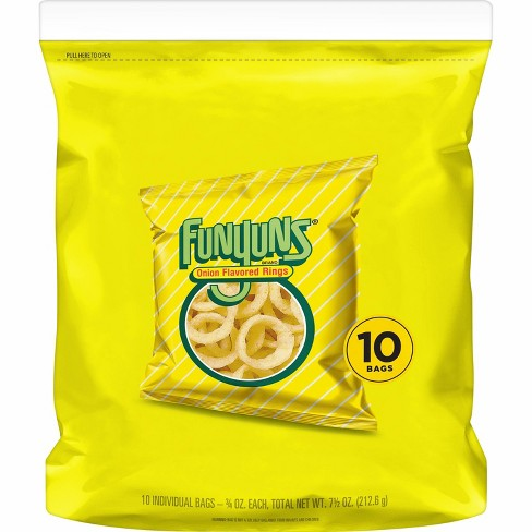 Funyuns Onion Flavored Rings Singles - 10ct - image 1 of 4
