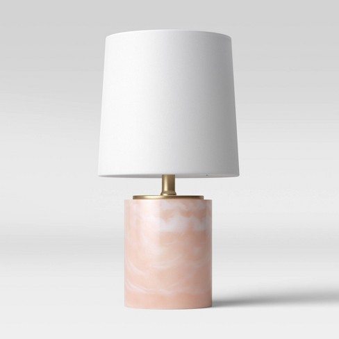 Clear Resin LED Accent Lamp Pink (Includes Energy Efficient Light Bulb) - Project 62™ - image 1 of 4