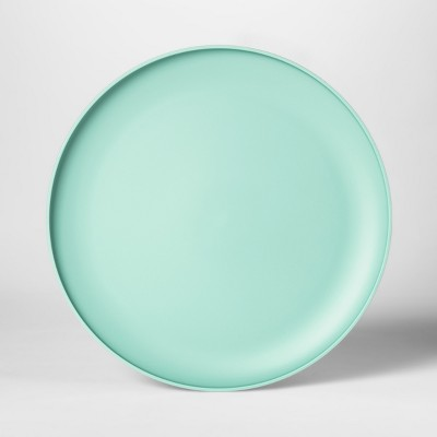 10.5  Plastic Dinner Plate Green - Room Essentials™