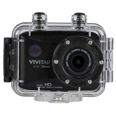 Vivitar Action Camera Black 1080p HD