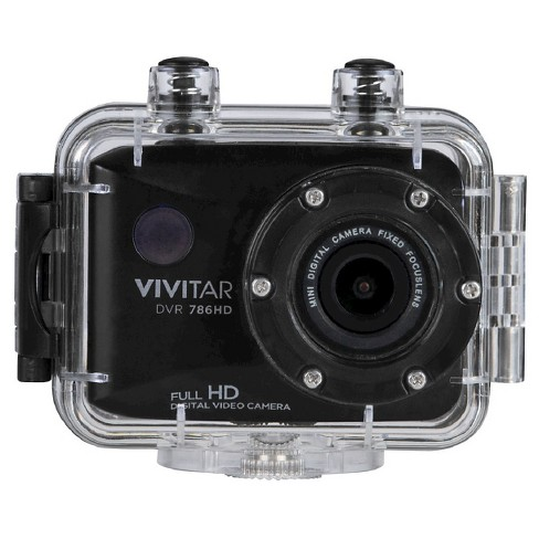 Vivitar Action Camera Black 1080p HD - image 1 of 4