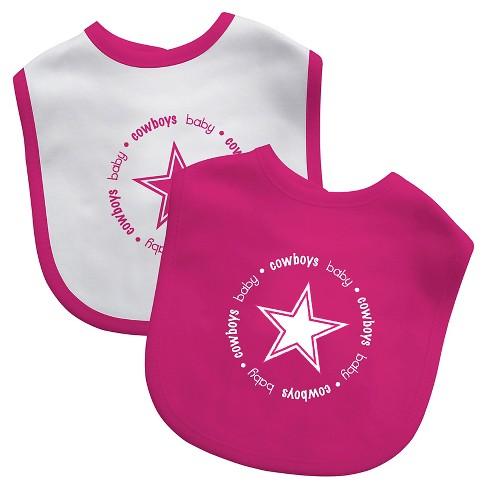 2df60e8aafd Dallas Cowboys Baby Fanatic Bibs Pink - 2 Pack : Target