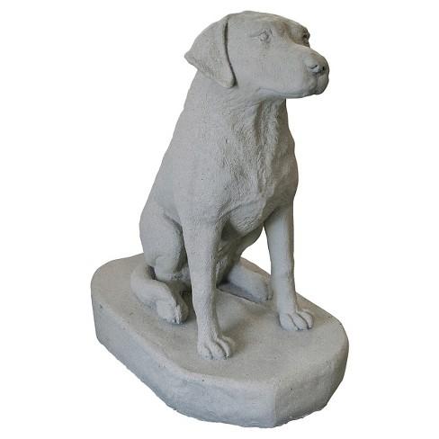 "Emsco 31.25"" Resin Sitting Labrador Statuary - image 1 of 1"