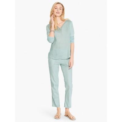 NIC+ZOE Women's Linen Stretch All Around Pant