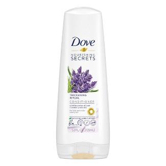 Dove Beauty Nourishing Secrets Thickening Rituals Conditioner- 12 Fl Oz : Target