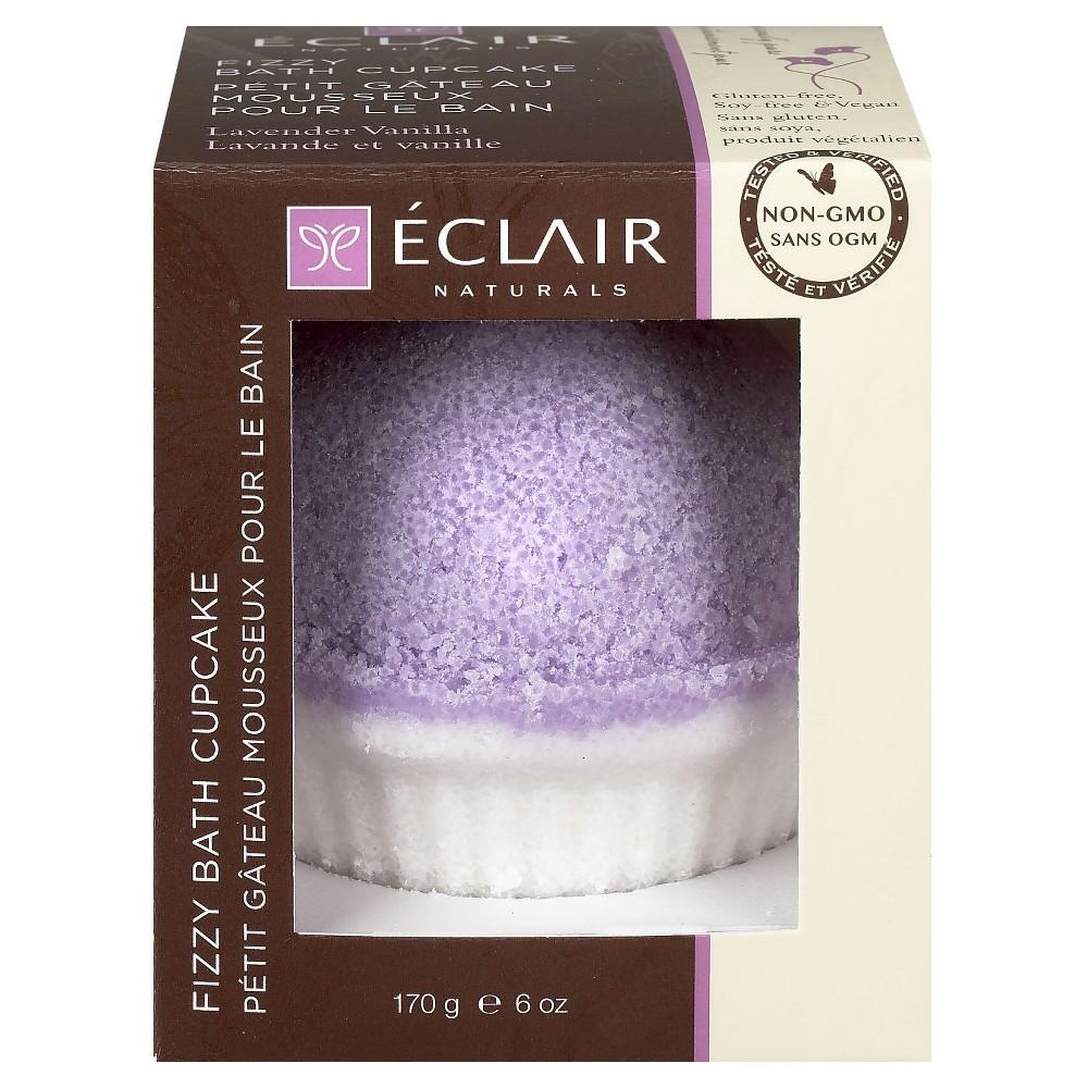Eclair Naturals Fizzy Bath Cupcake Lavender Vanilla 6 oz