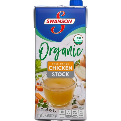 Swanson Organic Chicken Cooking Stock 32oz - image 1 of 3