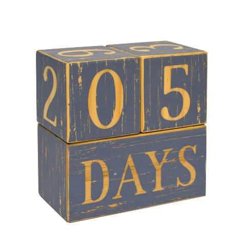 Milestone Wood Blocks - Cloud Island™ Gray - image 1 of 4