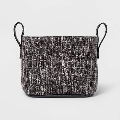 Tweed Basket Gray - Threshold™