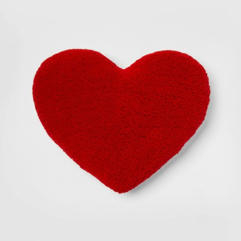 Oversized Heart Sherpa Pillow - Room Essentials™ - image 1 of 3