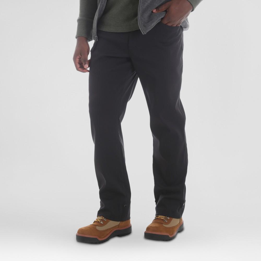 Wrangler Men's Outdoor Stretch Nylon Utility Pants - Black 40x32