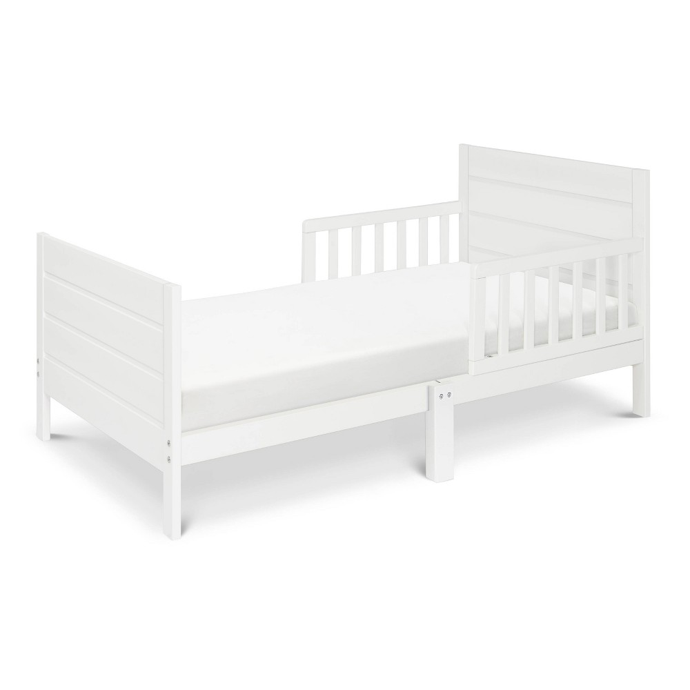 Image of DaVinci Modena Toddler Bed - White