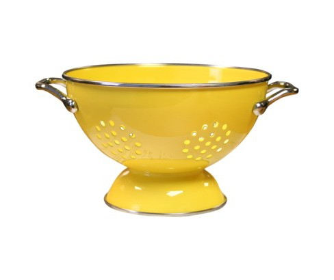 Enamel Stainless Steel Colander  Lemon (15qt) - image 1 of 1