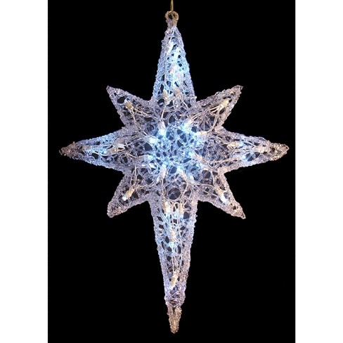 "J. Hofert Co 24"" LED Lighted Color Changing Hanging Star of Bethlehem Christmas Decoration - image 1 of 1"