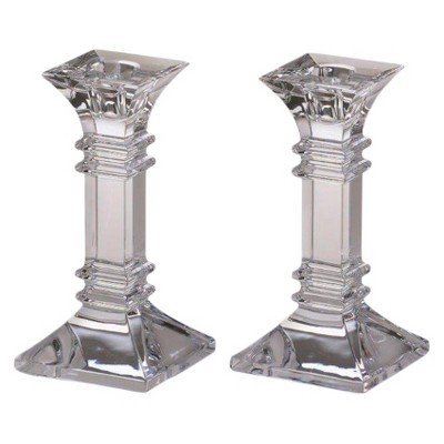 2pc Treviso Candlesticks 6  - Marquis By Waterford®