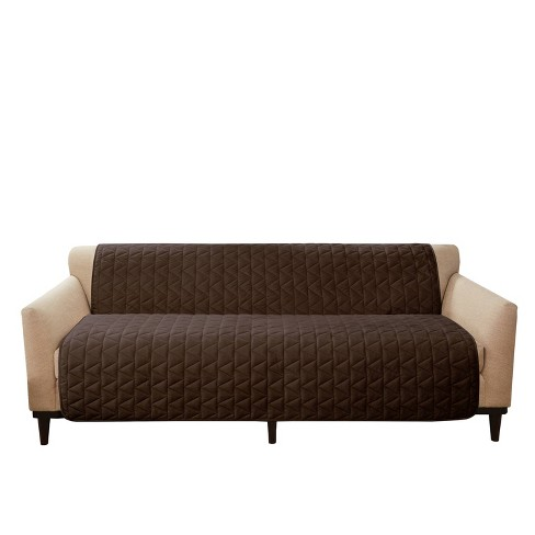 Armless Sofa Furniture Protector - Sure Fit - image 1 of 4