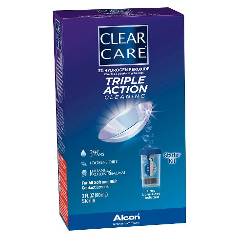 Clear Care Triple Action Cleaning Contact Travel Pack - image 1 of 2