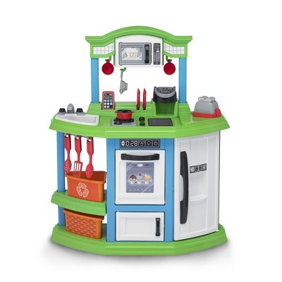 American Plastic Toys Kids Very Own Cozy Comfort Kitchen Role Play Toy Set