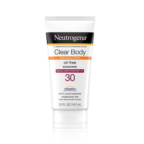 Neutrogena Clear Body Lotion - SPF 30 - 5 fl oz - image 1 of 4