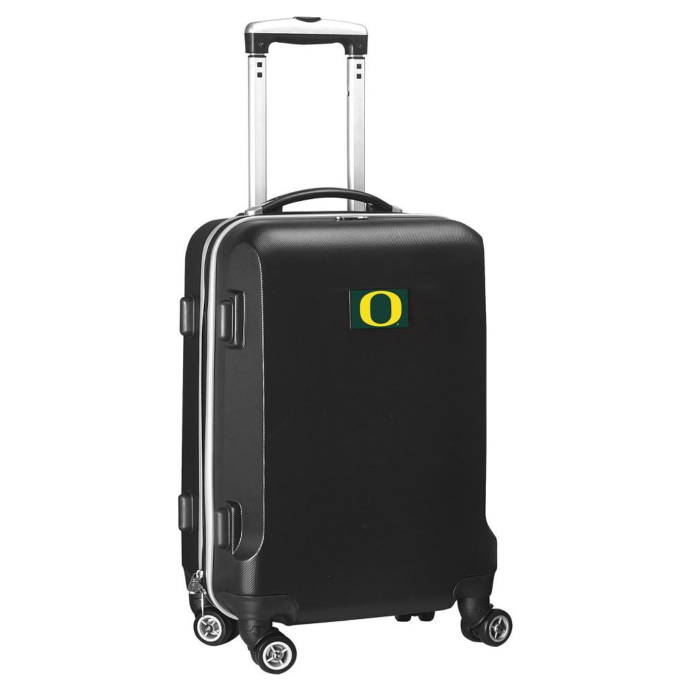 NCAA Oregon Ducks Black Hardcase Spinner Carry On Suitcase