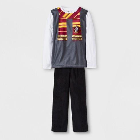 d5c4f8f3a5c5 Boys  Harry Potter 2pc Pajama Set - XS