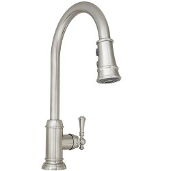 Mirabelle MIRXCAM100 Amberley 1.8 GPM Single Hole Pull-Down Kitchen Faucet