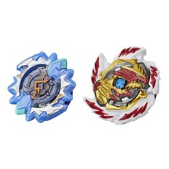Beyblade Burst Rise Hypersphere Dual Pack Erase Devolos D5 and Left Astro A5