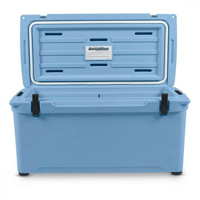 Engel Coolers 74 Quart 75 Can High Performance Roto Molded Ice Cooler, Blue