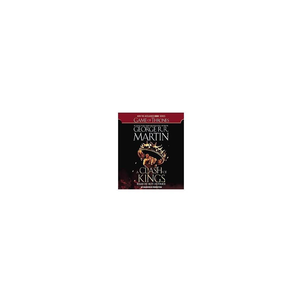 Clash of Kings (Unabridged) (CD/Spoken Word) (George R. R. Martin)