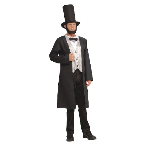 Men's Abe Lincoln Adult Costume One Size - image 1 of 1