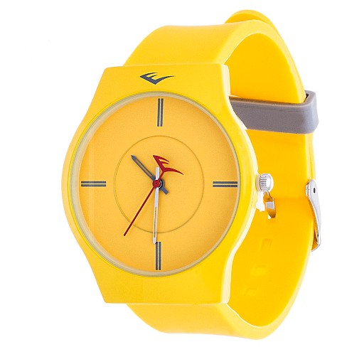 Everlast® Soft Touch Rubber Strap Watch - Yellow - image 1 of 2