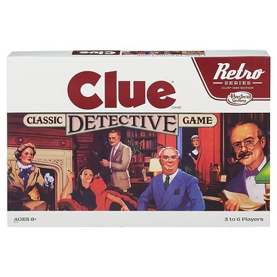 Clue 1986 Edition Retro Board Game