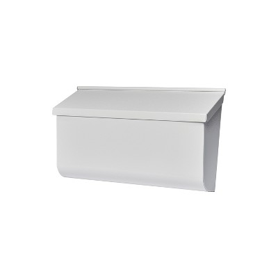 Gibraltar Mailboxes Woodlands Wall Mount Mailbox White