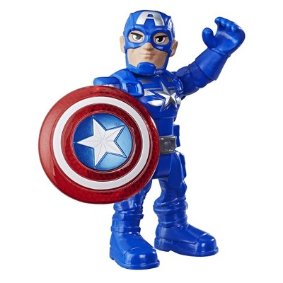 Playskool Super Hero Adventures CAPTAIN AMERICA First Release Right Hand Shield