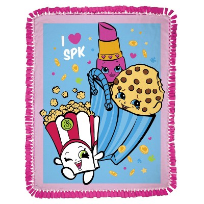 Shopkins Party No Sew Fleece Throw Kit