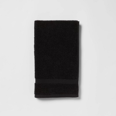 Perfectly Soft Solid Hand Towel Black - Opalhouse™