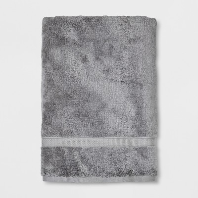 Soft Solid Bath Sheet Gray - Opalhouse™
