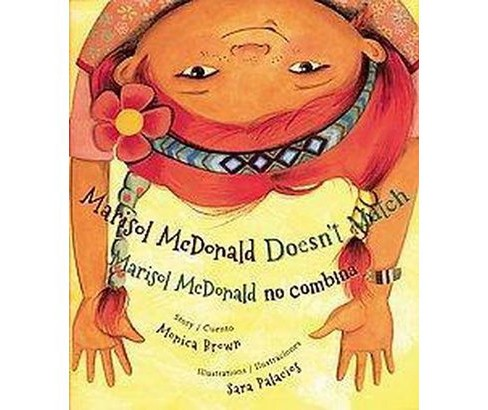 Marisol Mcdonald Doesn't Match / Marisol Mcdonald No Combina (Bilingual) (Hardcover) - image 1 of 1