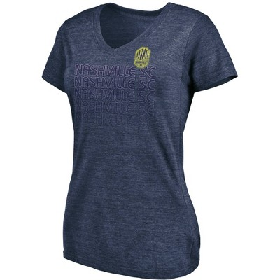 MLS Nashville SC Women's V-Neck T-Shirt