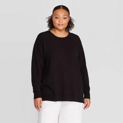 Women's Plus Size Crewneck Essential Pullover - Prologue™