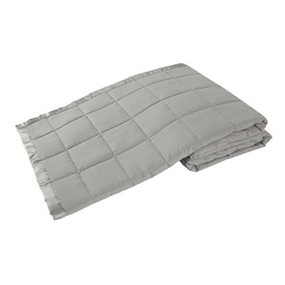 Elite Home 108 x 90 Inch Soft Lightweight Solid Cozy Nights Down Alternative Polyester Throw Blanket for Couch, Sofa, or Bed, King, Grey
