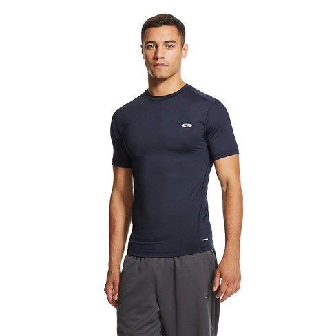 Men's Powercore Compression Shirt Night Blue XXXL Tall - C9 Champion® - image 1 of 2