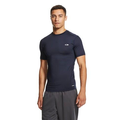a0d00428f Men's Big & Tall Powercore Compression Shirt Night Blue XXXL Tall - C9  Champion®