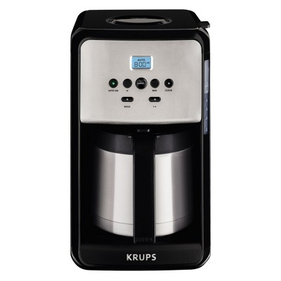 KRUPS Savoy Programmable Thermal Filter Coffee Maker