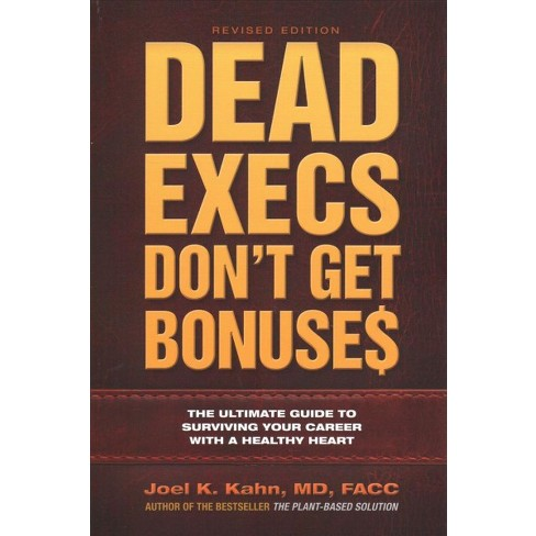 Dead Execs Dont Get Bonuses The Ultimate Guide T Target
